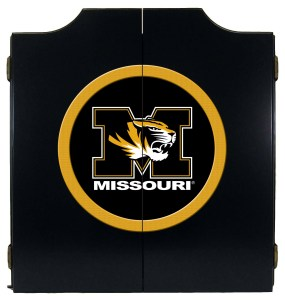 Mizzou Tigers College Logo Dart Cabinet | moneymachines.com