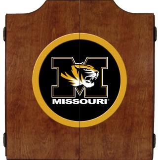 Mizzou Tigers College Logo Dart Cabinet   moneymachines.com