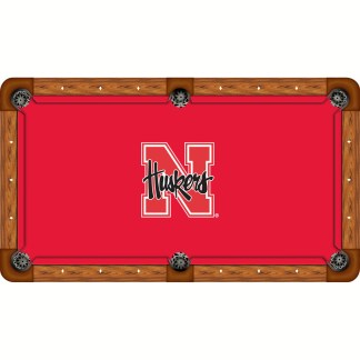 Nebraska Cornhuskers Billiard Table Cloth | moneymachines.com