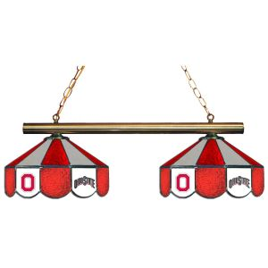 Ohio State Buckeyes Stained Glass Game Table Lamp   moneymachines.com