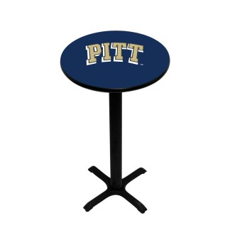 Pittsburgh Panthers College Logo Pub Table | moneymachines.com