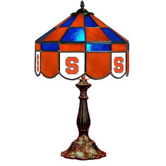 Syracuse Orange Stained Glass Table Lamp | moneymachines.com