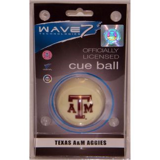 Texas A&M Aggies Billiard Cue Ball | moneymachines.com
