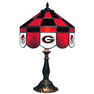 Georgia Bulldogs Stained Glass Table Lamp | moneymachines.com