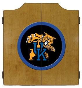 Kentucky Wildcats College Logo Dart Cabinet | moneymachines.com