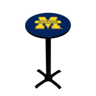 Michigan Wolverines College Logo Pub Table | moneymachines.com