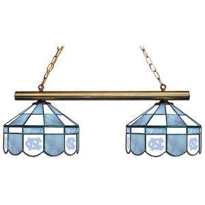 North Carolina Tar Heels Executive Stained Glass Game Table Lamp | moneymachines.com