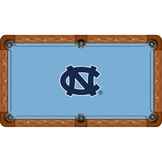North Carolina Tar Heels Billiard Table Cloth | moneymachines.com