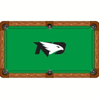 North Dakota Fighting Hawks Billiard Table Cloth | moneymachines.com