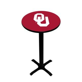 Oklahoma Sooners College Logo Pub Table | moneymachines.com