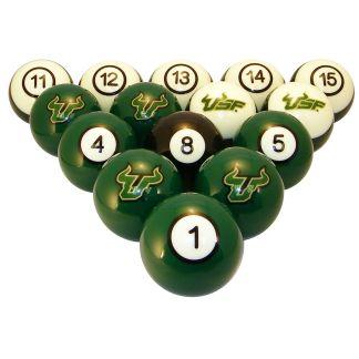 South Florida Bulls Billiard Ball Set | moneymachines.com