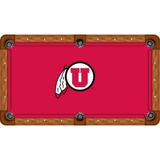 Utah Utes Billiard Table Cloth | moneymachines.com