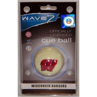Wisconsin Badgers Billiard Cue Ball | moneymachines.com
