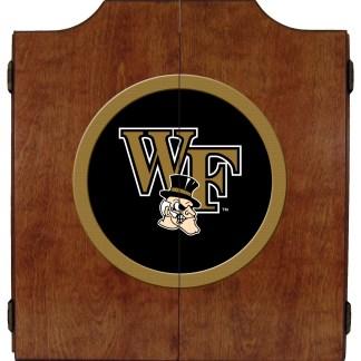 Wake Forest Demon Deacons College Logo Dart Cabinet | moneymachines.com