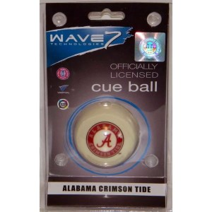 Alabama Crimson Tide Billiard Cue Ball | moneymachines.com