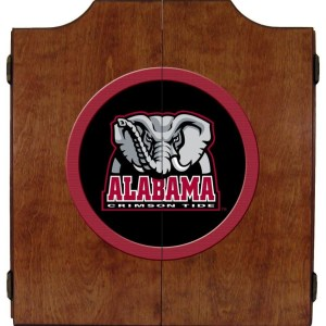 Alabama Crimson Tide College Logo Dart Cabinet | moneymachines.com
