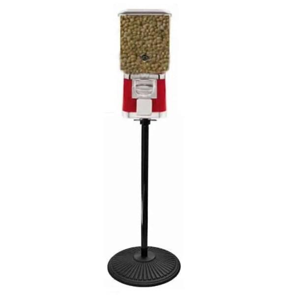 Animal Feed Vending Machine On Black Stand   moneymachines.com