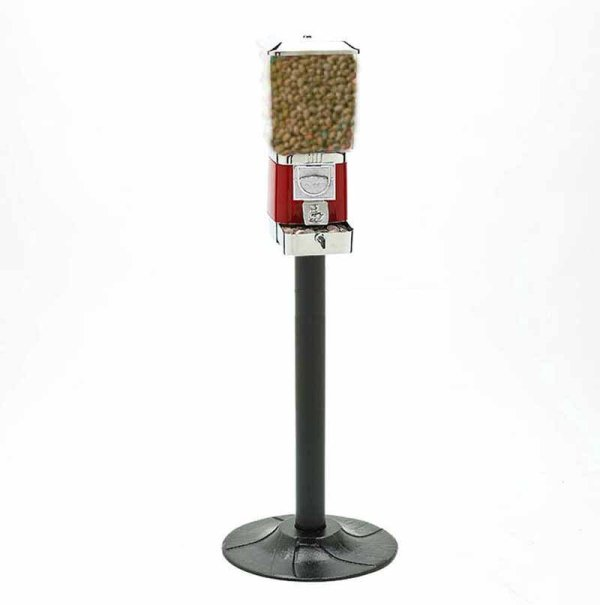 Deluxe Animal Feed Vending Machine and Stand   moneymachines.com