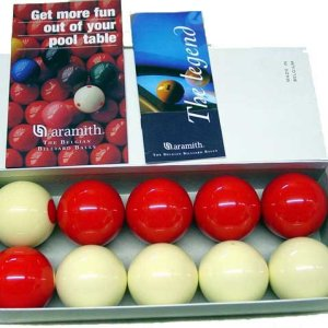 Aramith Beigian 2 1/8″ Bumper Pool Ball Set | moneymachines.com