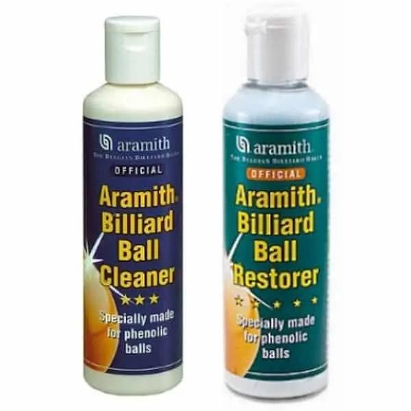Aramith Billiard Ball Cleaner and Restorer Combo - TPABC   TPABR   moneymachines.com
