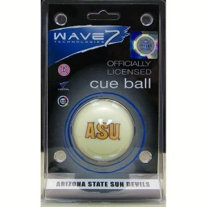 Arizona State Sun Devils Billiard Cue Ball | moneymachines.com