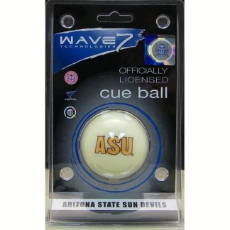 Arizona State Sun Devils Billiard Cue Ball | moneymachines.com