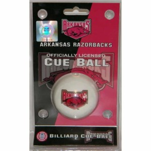 Arkansas Razorbacks Billiard Cue Ball | moneymachines.com