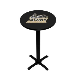 Army Black Knights College Logo Pub Table | moneymachines.com