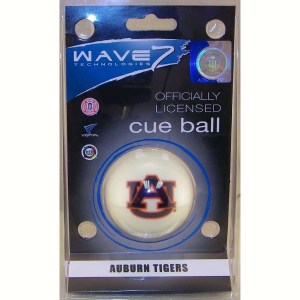 Auburn Tigers Billiard Cue Ball | moneymachines.com
