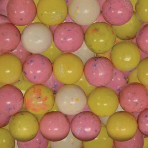 Birthday Cake Gumballs - 850 Count Case | moneymachines.com