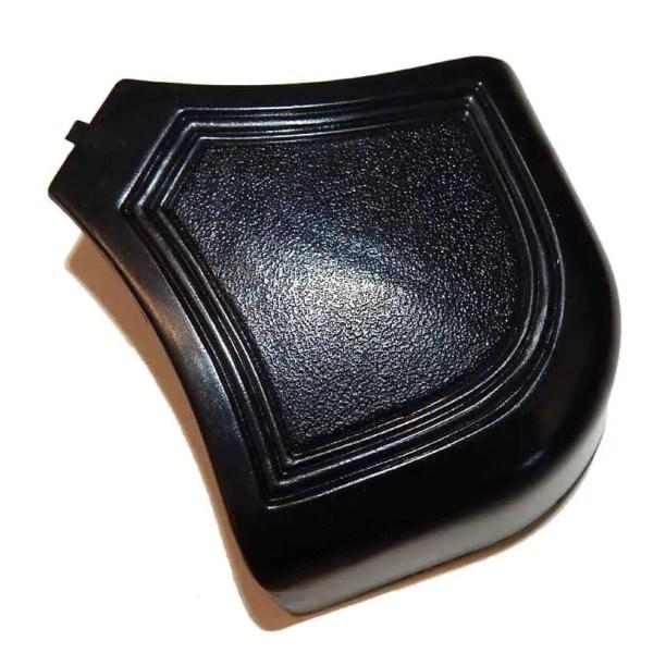 Black Plastic Brunswick Pool Table Rail Caps - Set of 4 | moneymachines.com