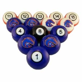 Boise State Broncos Billiard Ball Set | moneymachines.com
