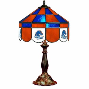 Boise State Broncos Stained Glass Table Lamp | moneymachines.com