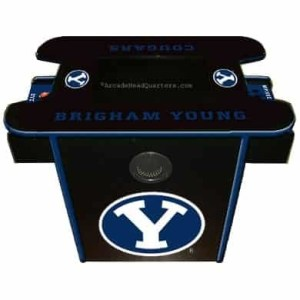 Brigham Young Arcade Multi-Game Machine | moneymachines.com