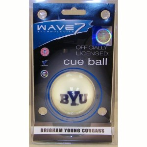 Brigham Young Cougars Billiard Cue Ball | moneymachines.com
