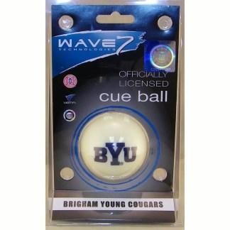 Brigham Young Cougars Billiard Cue Ball | moneymachines.com