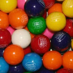 Case Of Assorted Dubble Bubble Gumballs | moneymachines.com