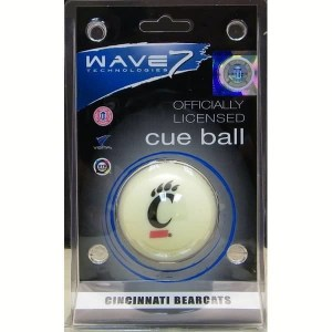 Cincinnati Bearcats Billiard Cue Ball   moneymachines.com