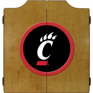 Cincinnati Bearcats College Logo Dart Cabinet   moneymachines.com
