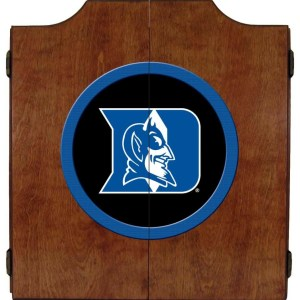 Duke Blue Devils College Logo Dart Cabinet | moneymachines.com