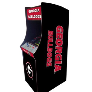 Georgia Bulldogs Arcade Multi-Game Machine | moneymachines.com