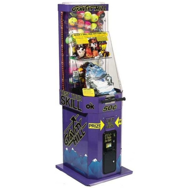 Gravity Hill Skill Redemption Game Vending Machine   moneymachines.com