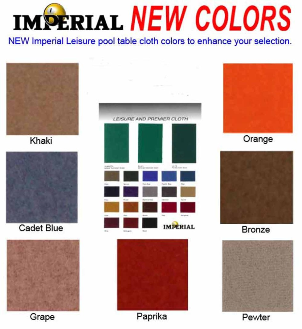 Imperial Cloth Colors New | moneymachines.com