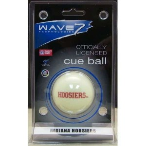 Indiana Hoosiers Billiard Cue Ball | moneymachines.com