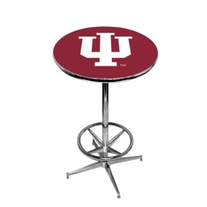 Indiana Hoosiers College Logo Pub Table | moneymachines.com