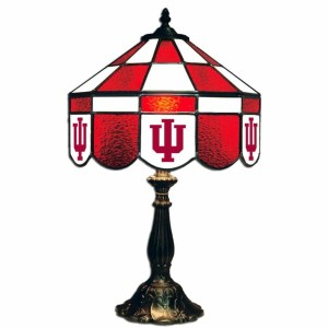Indiana Hoosiers Stained Glass Table Lamp | moneymachines.com