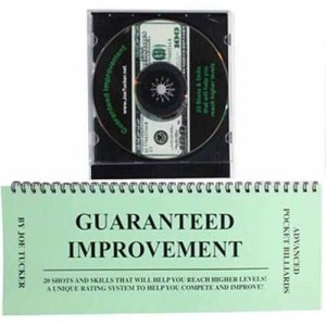 Joe Tucker Guaranteed Improvement Book/DVD | moneymachines.com