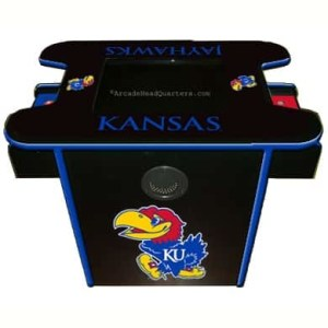 Kansas Jayhawks Arcade Multi-Game Machine | moneymachines.com