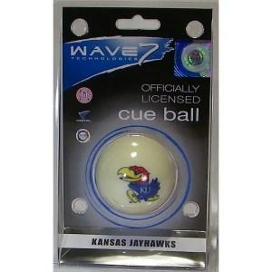 Kansas Jayhawks Billiard Cue Ball   moneymachines.com