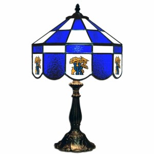 Kentucky Wildcats Stained Glass Table Lamp | moneymachines.com